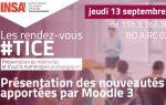 RV TICE - Présentation Nouveautés de Moodle 3